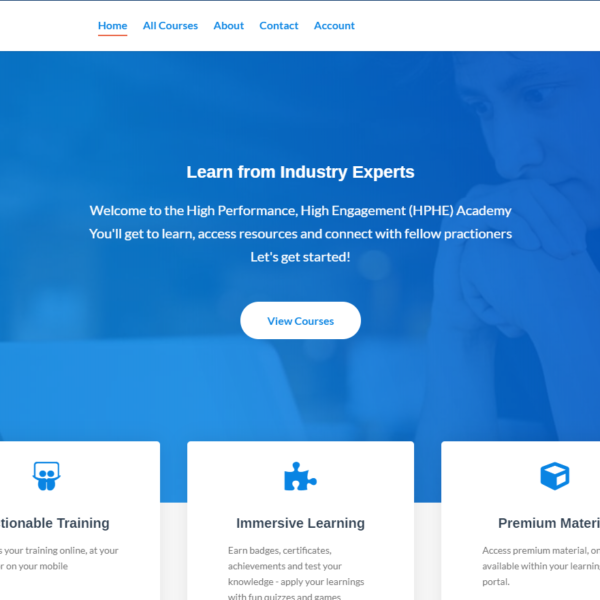 LMS - Learning manage System - The web Development Services
