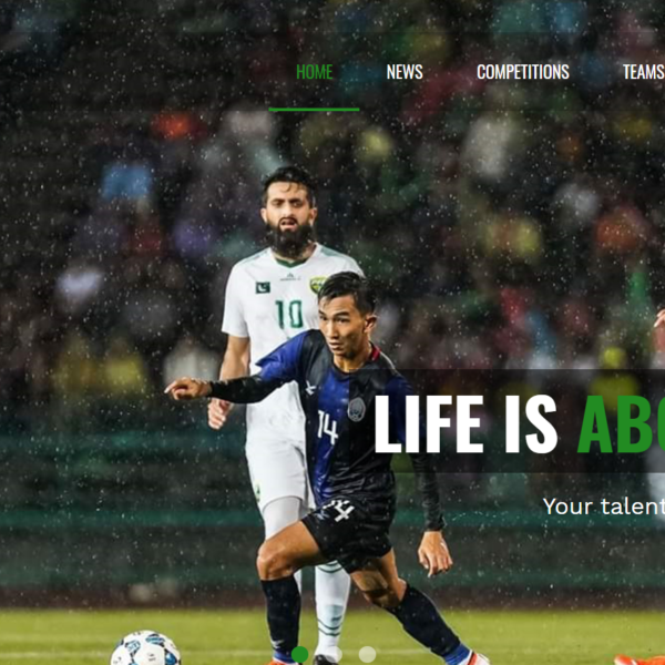 The Football Company Website - Online ERP Solution and Web