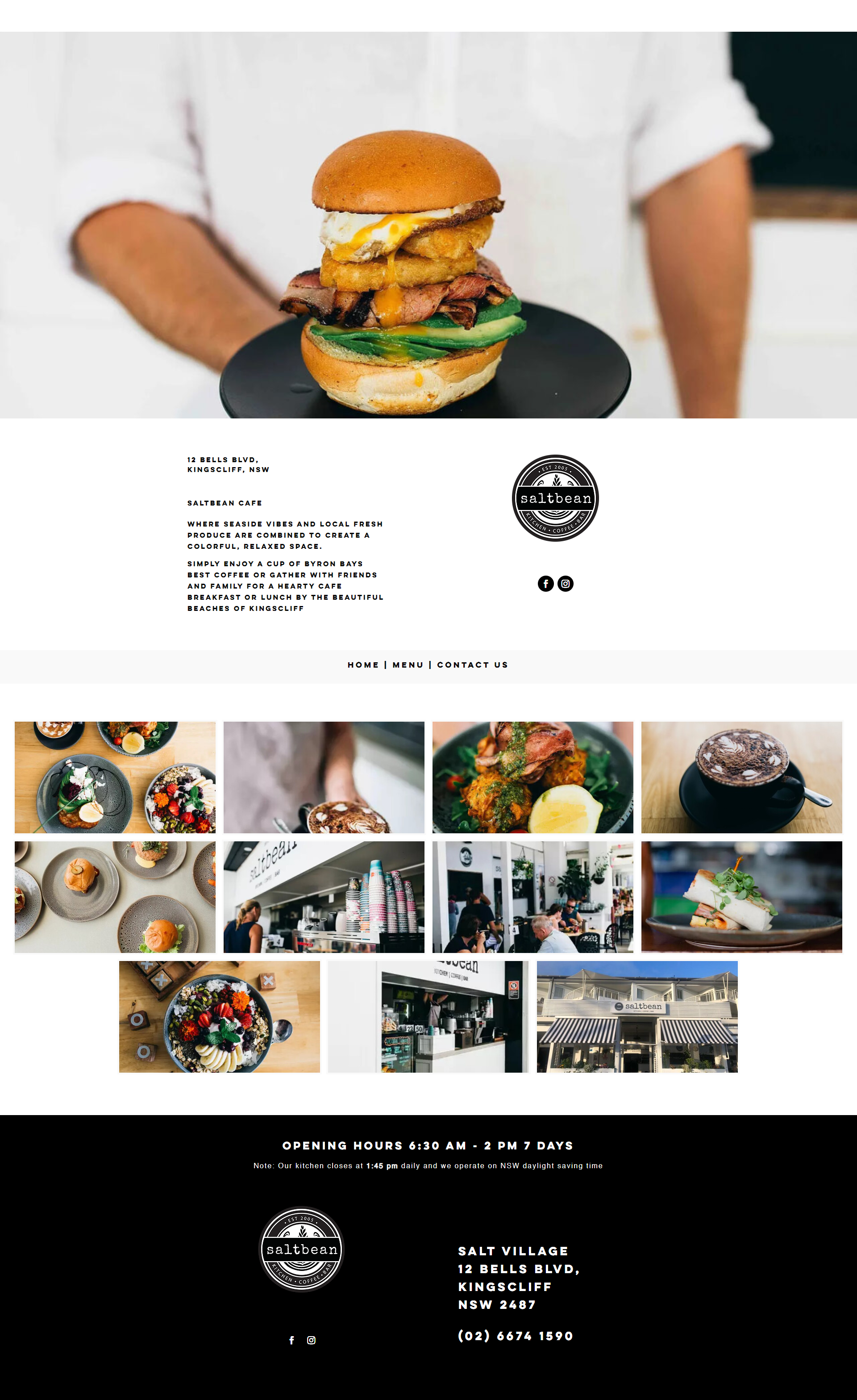 The Restaurant Website - Web Development Services